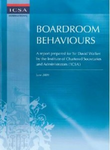 Boardroom Behaviours